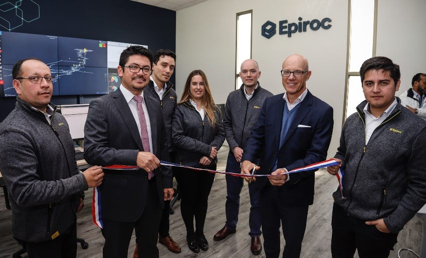 Epiroc inauguró Control Tower en Chile