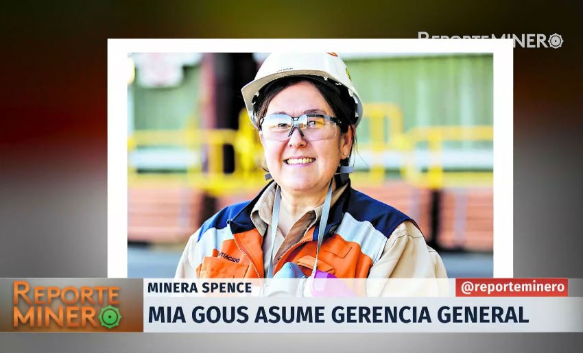 VIDEO - Mia Gous asumió la gerencia general de Minera Spence